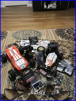 Team Associated RC10B6 And T5M with Futaba 3PV And Xtras