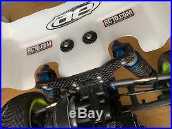 Team Associated RC10 B6D Team Car with full electronics & futaba 3pv