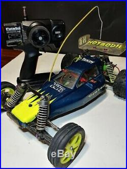 Team Losi XX Vintage CR Buggy TLR KC Propo Trinity Futaba Ex racer Must See