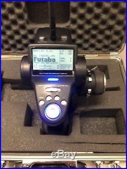 Team XRAY 1/8 Nitro Team XT8 Truck and a Futaba 4PK radio with Fast receiver