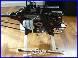 Thunder Tiger Raptor 30 Nitro Helicopter Futaba Gyro + Extras