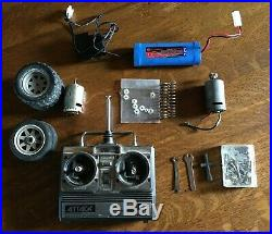 Traxxas Radicator Vintage with Futaba Attack 7.2V Battery RC Car RTR 1/10 scale
