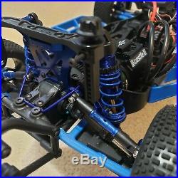 Traxxas Slash 4x4 With Futaba 4PLS Radio Castle 1515 2650 Mamba X RPM VG racing