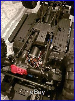 Traxxas TRX-4 Sport crawler diff locks 2 speed with Futaba 4PM T-FHSS telemetry