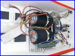 Traxxas Villain Deep V R/C Electric Boat with Futaba Servos Marlboro Custom Paint