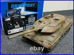 Use Tamiya RC 1/16 Leopard 2A6 Full Option with DMD Control Unit Tank Futaba RTR