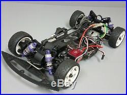 Used 1/10 Chassis HPI wheel Tamiya mabuchi motor Futaba S3003 servo venom ESC