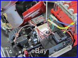 Used Tamiya 1/10 RC Ford F350 F-350 High Lift 4x4 Truck ESC Futaba Servo
