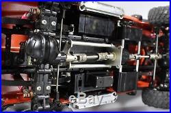 Used Tamiya 1/10 RC Ford F350 F-350 High Lift 4x4 Truck ESC Futaba with extra