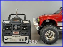 Used Tamiya 1/10 R/C Toyota Mountain Rider 4x4 Pick up Reissue Kit Futaba Light
