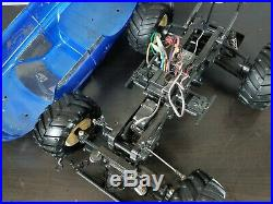 Used Tamiya 1/10 R/C Wild Dagger with Futaba Attack II Transmitter ESC TEU101BK