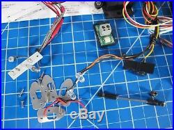 Used Tamiya 1/14 Semi Tractor Truck Electrical Light Beeper Unit Set +Futaba ESC