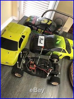 VINTAGE TRC LYNX II ELITE PAN CAR 1/10TH RC Carpet/Road Novak T-4, Tekin, Futaba