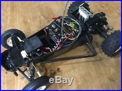 VINTAGE Tamiya Hornet with Futaba Magnum Sport Transmitter FP-T2P TX Grasshopper