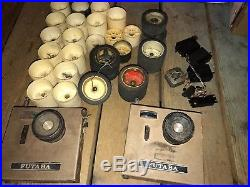 Vintage 1970's Delta Racing Gas Powered 1/8 RC Cars X2 Futaba Transmitters Parts
