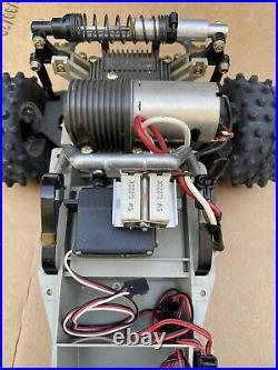 Vintage 1980s Marui Hunter 1/10 RC Car/Buggy Project/Parts Car Futaba Tamiya