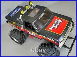 Vintage 1986 Tamiya 1/10 RC Ford Blackfoot 2.4GHz GoolRC Futaba ESC Upgrade Part