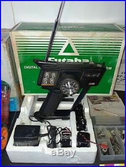 Vintage 1988 LOSI 1/10 JRX2 RC Buggy, Futaba FP-2PBKA Controller (Accessories)