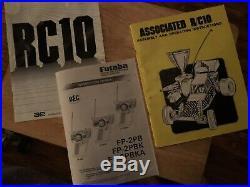 Vintage 1988 Team Associated RC10 And Vintage Futaba Magnum JR