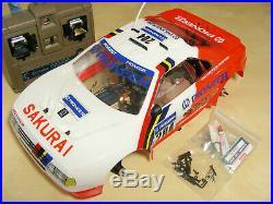 Vintage 1990 Kyosho PEUGEOT 405 GP10 Nitro 4WD w Vintage Futaba 4CH Electronics