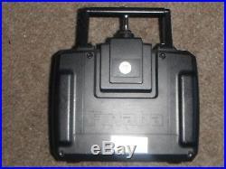 Vintage 1995 Tamiya 1/12 RC Hummer 4 Wheel Drive Futaba Attack Controller