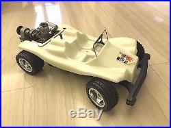 Vintage 1/8 Futaba Safari buggy in great condition! Rare