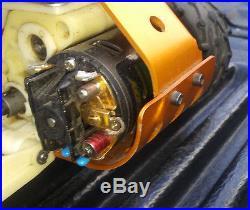 Vintage Associated RC10 Gold Pan RC Buggy A Stamp Futaba RX TX Novak GT7 ESC