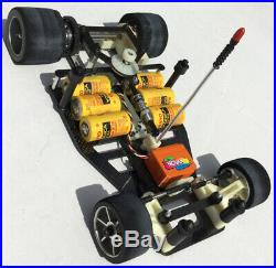 Vintage Associated RC12L Restored Roller, Painted Body, Painted Futaba Servo