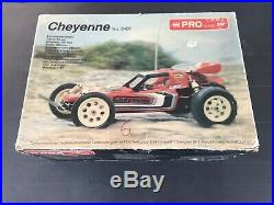 Vintage Cheyenne 1/10 2wd Rare Buggy Futaba Nichimo Kyosho Hpi Ae Hpi Ayk New