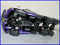 Vintage Custom graphic Tamiya RC 1/14 Semi Ford Aeromax Truck Futaba TBLE-02 ESC