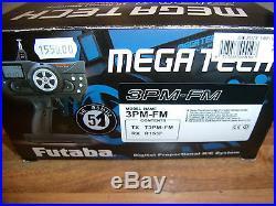 Vintage Futaba 3PM-FM MegaTech 3PM 3 Channel FM 40Mhz Computer Transmitter Set