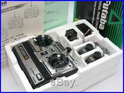 Vintage Futaba ATTACK-R 2NBR 75MHz Radio Set for Optima Ultima JRX2 JRXT RC10T