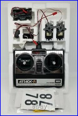 Vintage Futaba ATTACK-R FP-2NBR 75MHz Radio Set for R/C Models MINT! RARE