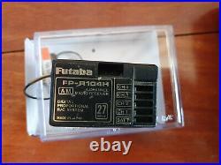 Vintage Futaba Challenger AM Transmitter FP-R104H 4Ch Receiver Hilux Bruiser
