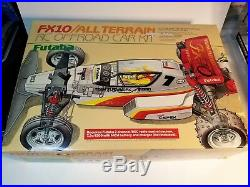 Vintage Futaba FX10 All Terrain RC Car CIB
