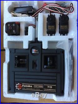 Vintage Futaba Fp-2gs Stick 2ch Radio Nos Tamiya Kyosho Rare Remote System