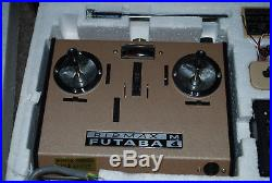 Vintage Futaba M4 radio control. Rare NOS new & unused