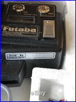 Vintage Futaba Magnum Junior FP-2PKA RC Radio Control NOS! FP-S32H FP R2H