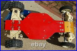 Vintage Hot Trick RC10 Buggy with matching Futaba controller Very Nice Condition
