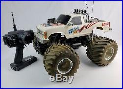 Vintage Kyosho Usa 1 Monster Truck Rc 1 10 Scale Manual Futaba Radio Untested