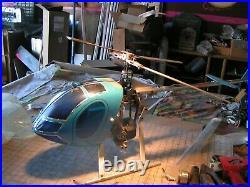 Vintage Model Flight MFA Sport 500 Heli, complete with Futaba radio system see pic