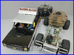 Vintage Original Tamiya 1/10 R/C Blazing Blazer 1982 Futaba Transmitter ESC