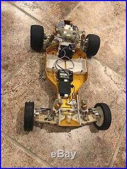 Vintage RC10 Original Worlds Car Team Associated 1991 with Futaba electronics