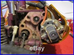 Vintage RC10 rareTeam Associated #6016 with Electronics Tamiya kyosho futaba