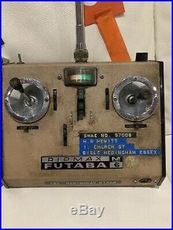 Vintage RC Plane Handset Futaba Ripmax