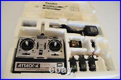 Vintage R/C Futaba Radio Control system Attack-4 FP-T4NBL for model airplanes