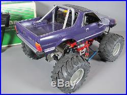 Vintage Rare 1/10 RC Tamiya Mud Blaster Subaru Brat Futaba ESC Aluminum upgrade
