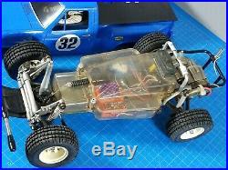 Vintage Rare Tamiya 1/10 R/C Ford F150 Ranger XLT Racing Buggy ESC Futaba F-150