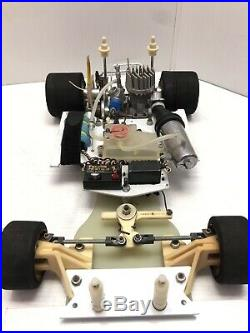 Vintage Rc Car Team Associated Rc250/rc300 1/8 Nitro Onroad OS Futaba MIP Kyosho