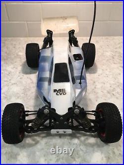 Vintage Rc Yokomo MX-4 4wd 10th Scale Buggy Reedy Futaba 834b 870c